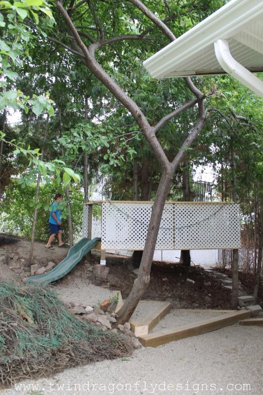 DIY Tree Fort