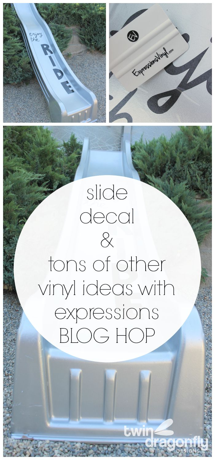 Slide Decal & Vinyl Project Ideas Blog Hop