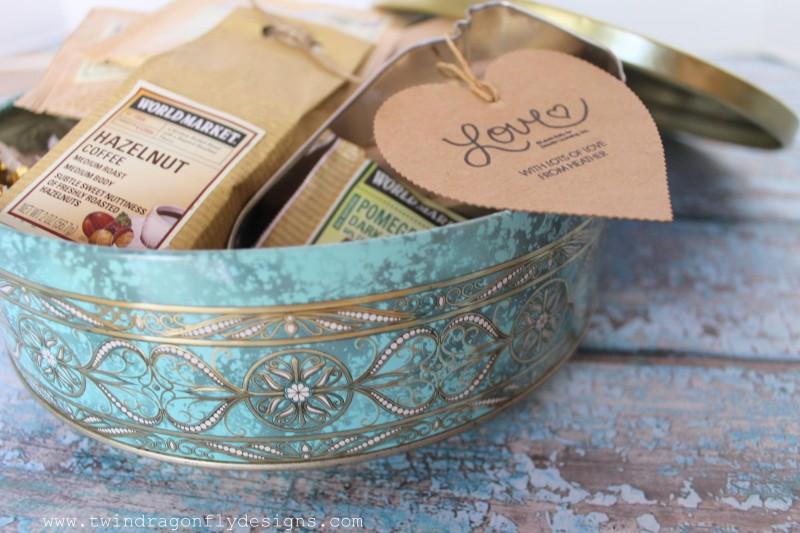 Vintage Tin Gift Idea