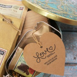 Vintage Tin Gift Idea with Expressionery