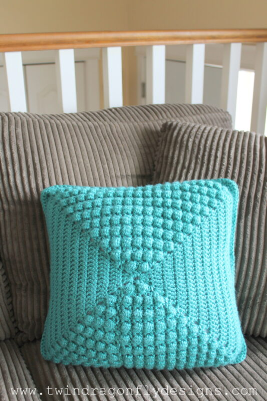 Crochet Bubble Pillow