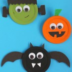 Halloween Snap Lid Magnets