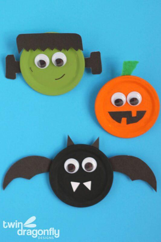 Halloween Snap Lid Magnets