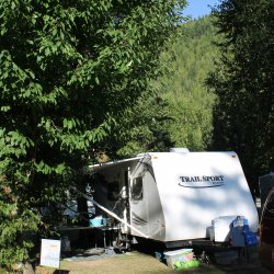Shuswap Falls Campsite Review