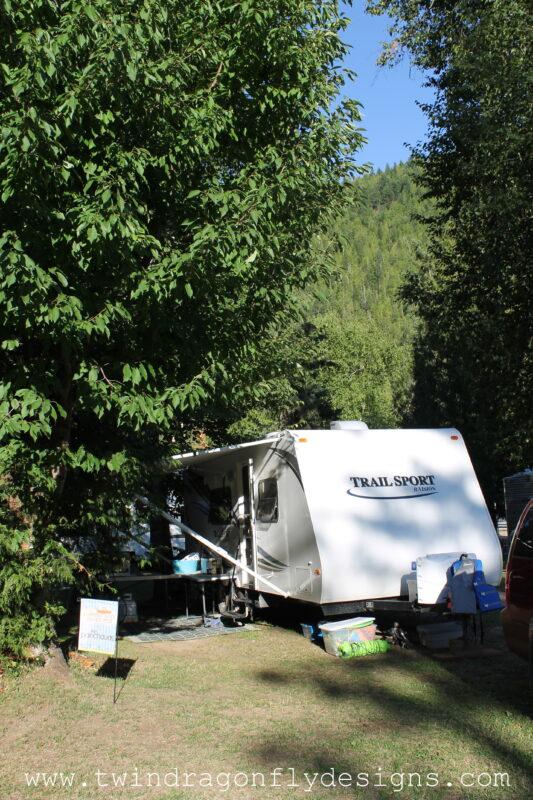 Shuswap Falls RV Park Campsite Review