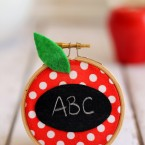 Apple Chalkboard Teacher Gift