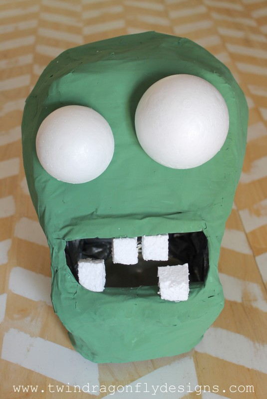 Plants vs Zombies Chomper Zombie Costume DIY Tutorial-009