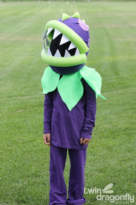 Plants vs Zombies Chomper Zombie Costume DIY Tutorial