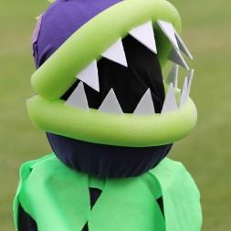 Plants vs Zombies Chomper Zombie Costume DIY Tutorial-030