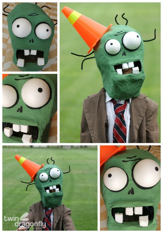 Plants vs Zombies DIY Zombie Costume