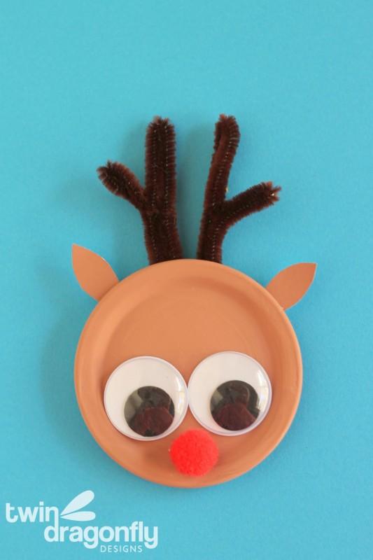 Reindeer Snap Lid Magnet
