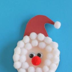 Santa Snap Lid Magnet