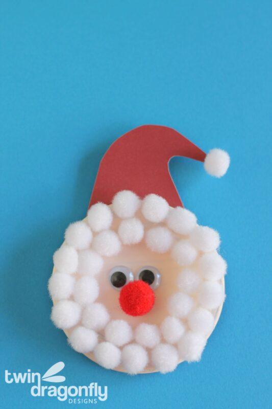 Santa Snap Lid Magnet 01