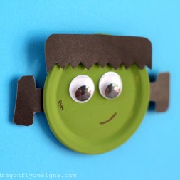 Snap Lid Frankenstein Magnet-006