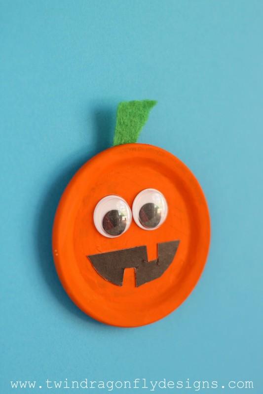 Snap Lid Pumpkin Magnet-006
