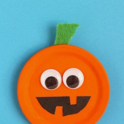 Pumpkin Magnet Craft