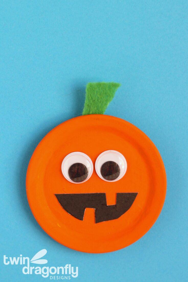Pumpkin Magnet Craft
