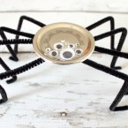 Snap Lid Spider Craft