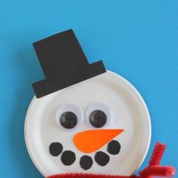 Snowman Snap Lid Magnet 01