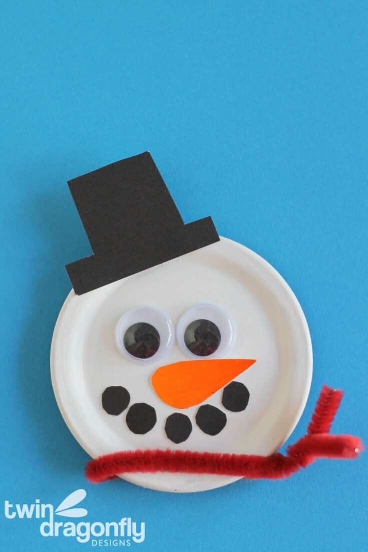 Snowman Magnet Craft