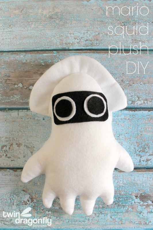 Mario Squid Plush