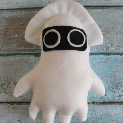 Mario Squid Plush DIY