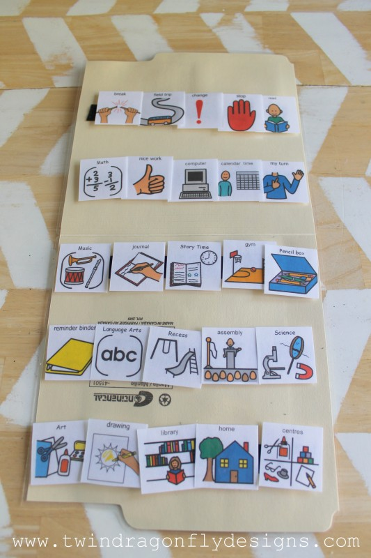 PECS Folder