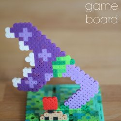 Plants vs Zombies Perler Bead Playing Board