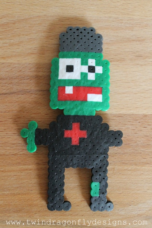 Plants vs Zombies Perler Bead Zombie Patterns