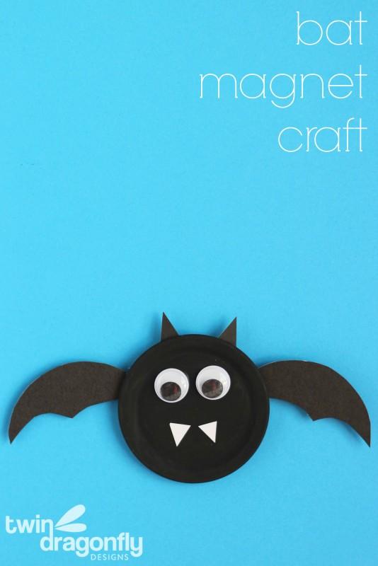 Snap Lid Bat Magnet
