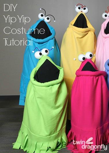 DIY Yip Yip Costume Tutorial