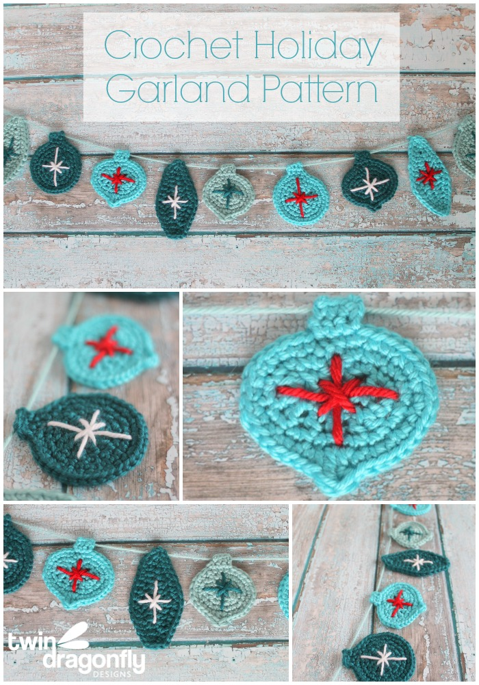 Crochet Holiday Garland Pattern