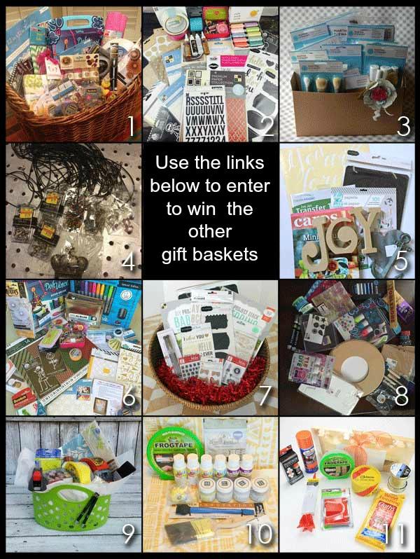 craft basket giveaway