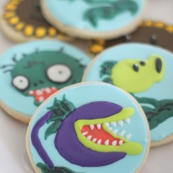 Plants vs Zombies Sugar Cookies