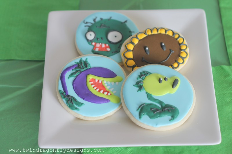 Plants vs Zombies Cookies