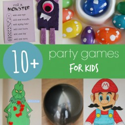 10+ Party Games for kids