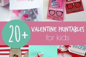 20+ Valentine Printables for Kids