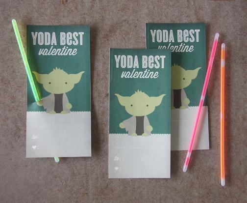 Yoda Printable Valentine