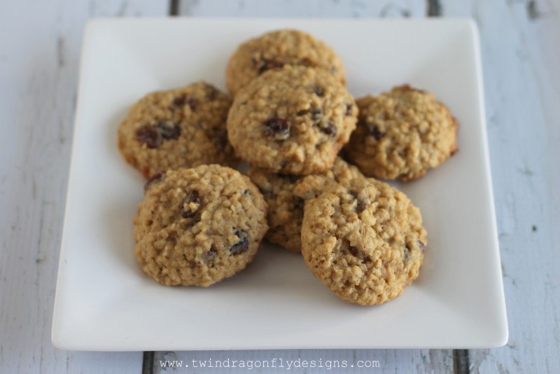 Oatmeal Raisin Cookies-002