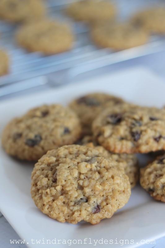 Oatmeal Raisin Cookies-003