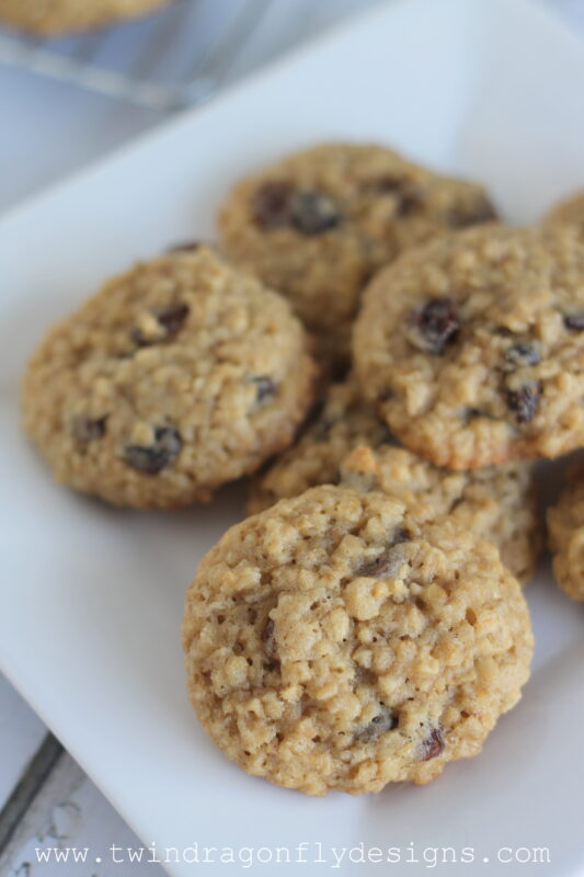 Oatmeal Raisin Cookies-004