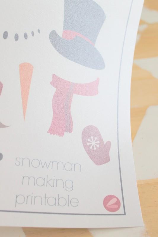 Printable Snowman Craft-004