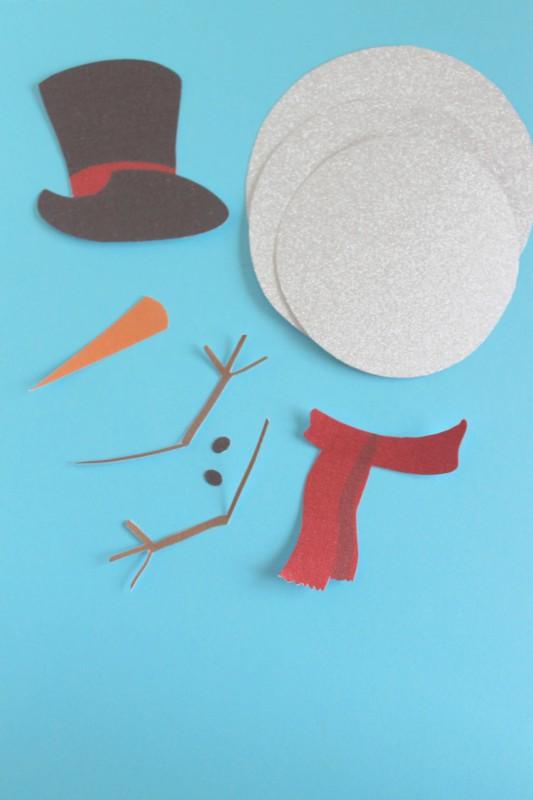 Printable Snowman Craft-009