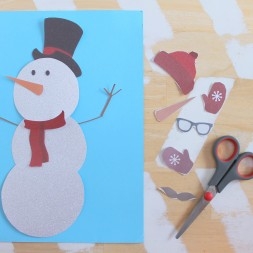Printable Snowman Craft-011