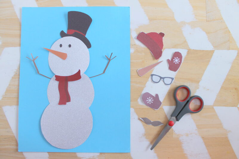 Printable Snowman Craft-011