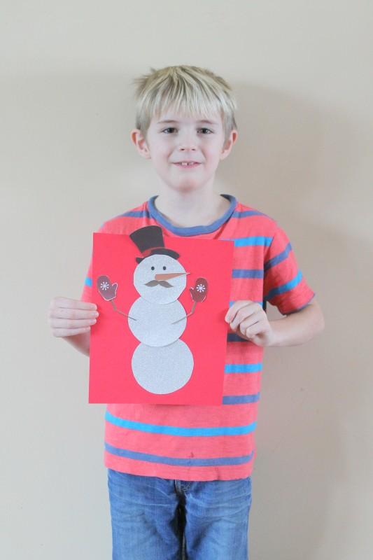Printable Snowman Craft-015