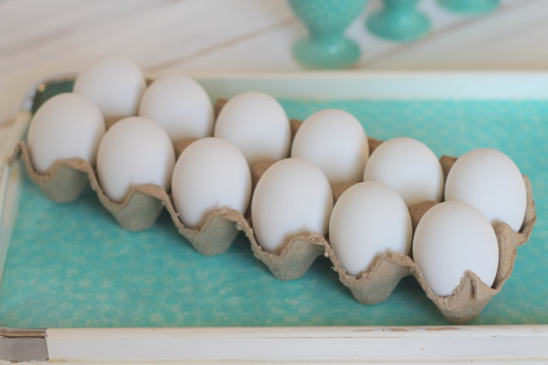 Decoupaged Easter Egg Tutorial