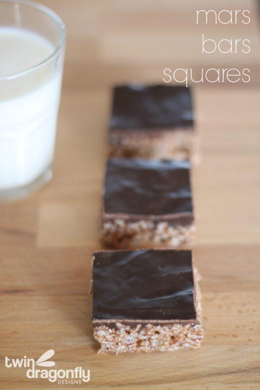 Mars Bars Squares