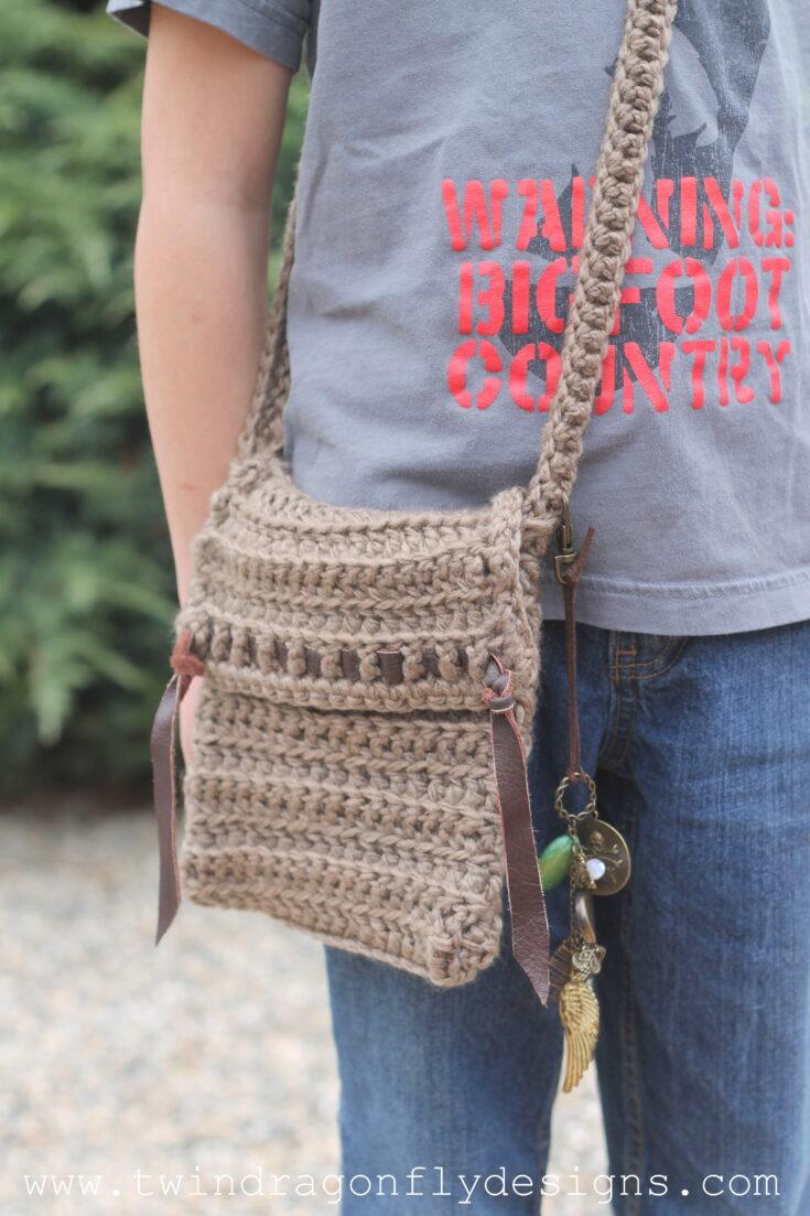 Crochet Satchel Pattern for Kids