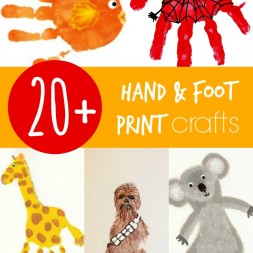 20+ Hand and Footprint Crafts